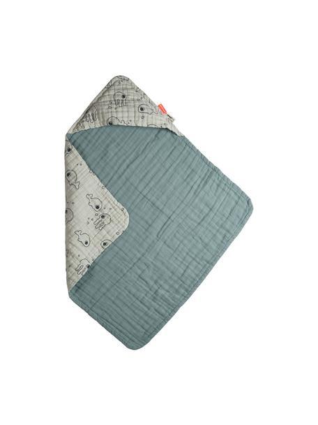 Babyhandtuch Sea Friends, 100% Baumwolle, Oeko-Tex-zertifiziert, Blau, 70 x 70 cm