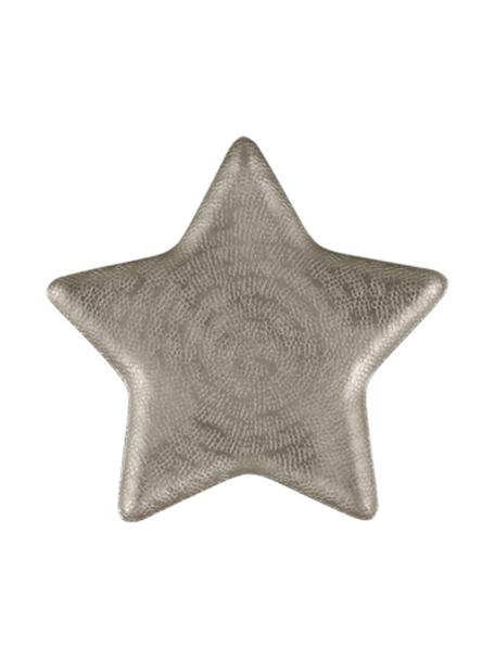 Ciotola decorativa Star, Alluminio, Alluminio opaco, Larg. 25 x Alt. 2 cm