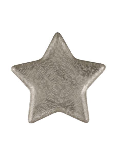 Deko-Schale Star, Aluminium, Aluminium, matt, 25 x 2 cm