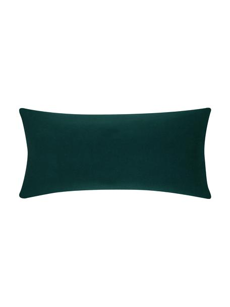 Poszewka na poduszkę z flaneli Biba, 2 szt., Leśny zielony, S 40 x D 80 cm