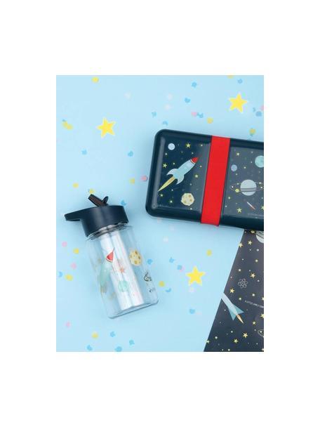Borraccia Space, Materiale sintetico, Blu scuro, 450 ml