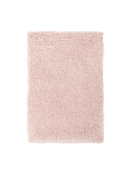 Flauschiger Hochflor-Teppich Leighton in Rosa, Flor: Mikrofaser (100% Polyeste, Rosé, B 200 x L 300 cm (Größe L)