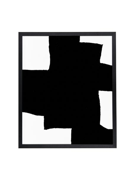 Lámina decorativa From Above, Negro, blanco, An 53 x Al 63 cm