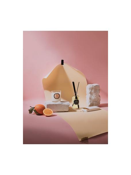 Ambientador Aromatherapy (naranja, cedro y clavel), Tapa: madera, Negro, blanco, Ø 6 x Al 14 cm