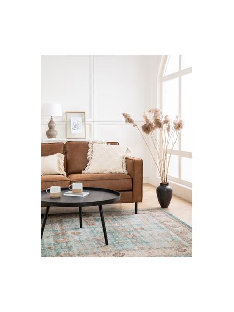 Poszewka na poduszkę z frędzlami Martina, 100% bawełna, Beżowy, S 45 x D 45 cm