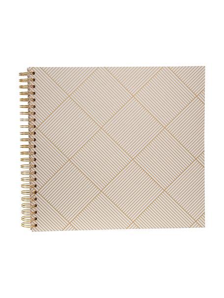 Album fotografico Picture, Dorato , bianco, L 25 x A 22 cm