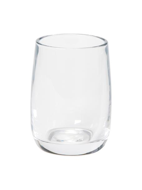 Tandenborstelbeker Agada, Glas, Transparant, Ø 8 x H 11 cm