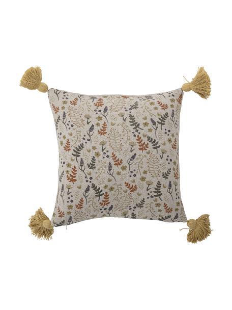 Kissen Filipa, mit Inlett, Bezug: 52% recycelte Baumwolle, , Mehrfarbig, 40 x 40 cm