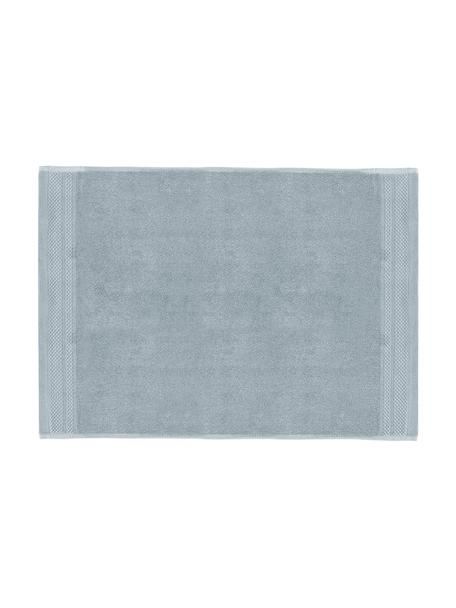 Badmat Premium, antislip, 100% katoen, zware kwaliteit, 600 g/m², Lichtblauw, 50 x 70 cm