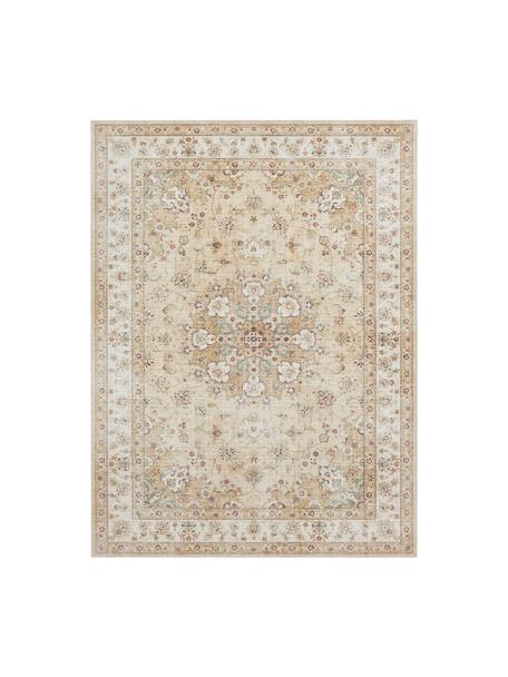 Teppich Nain im Orient Style, 100% Polyester, Gelb, Beigetöne, B 120 x L 160 cm (Größe S)