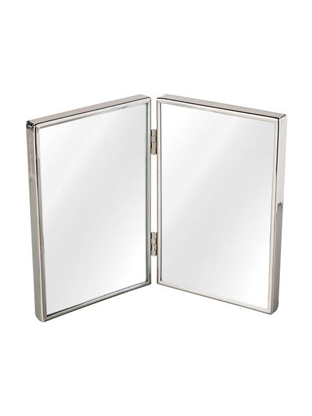 Bilderrahmen Twinny, Metall, Glas, Silberfarben, 10 x 15 cm
