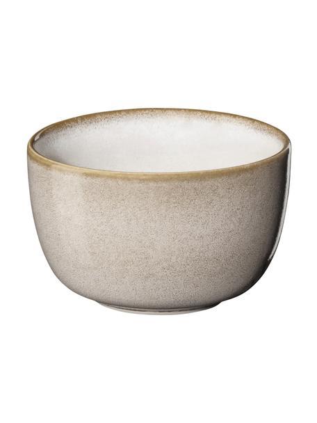 Dipschalen Saisons van keramiek in beige Ø 9 cm, 6 stuks, Keramiek, Beige, Ø 9 x H 6 cm