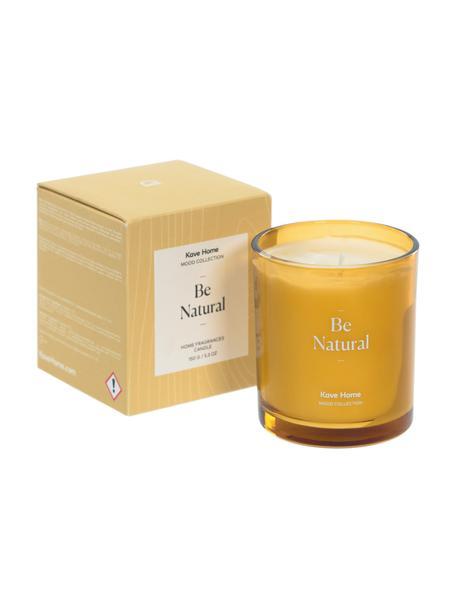 Świeca zapachowa Be Natural (bergamotka, eukaliptus), Bergamotka, zapach eukaliptusa, Ø 8 x W 9 cm