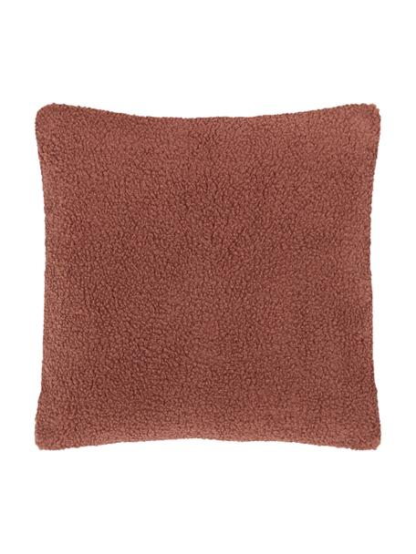 Poszewka na poduszkę Teddy Mille, Terakota, S 45 x D 45 cm