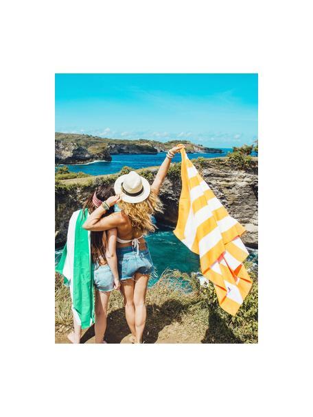 Toalla de playa de microfibras Cabana, Microfibra (80%poliéster, 20%poliamida), Multicolor, An 90 x L 200 cm