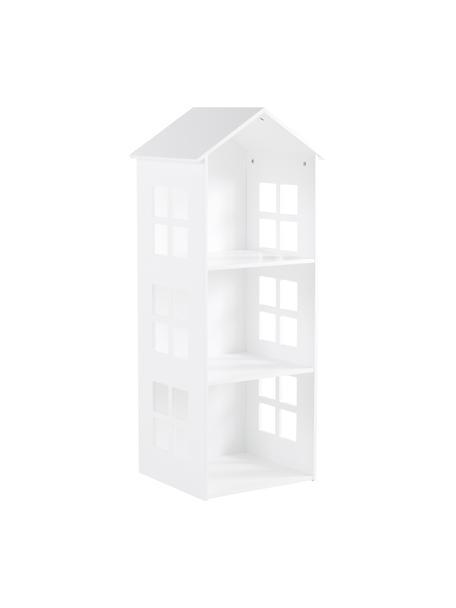 Libreria per bambini Sevilla, Pannello di fibra a media densità (MDF) rivestito, Bianco, Larg. 40 x Alt. 117 cm