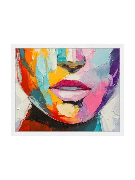 Oprawiony druk cyfrowy Colorful Emotions, Wielobarwny, S 53 x W 43 cm