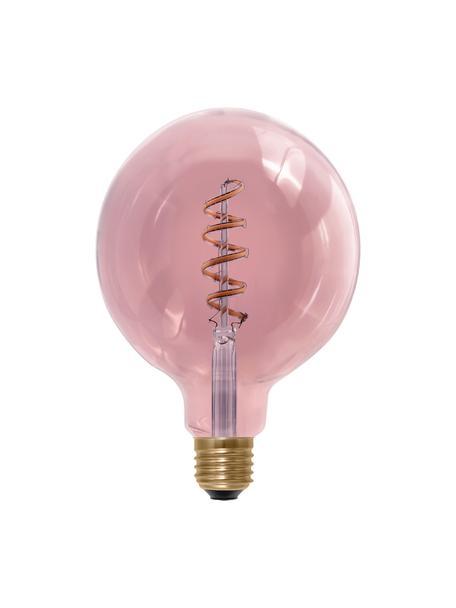 Żarówka XL LED E27/8 W, ciepła biel, Blady różowy, Ø 13 x W 18 cm