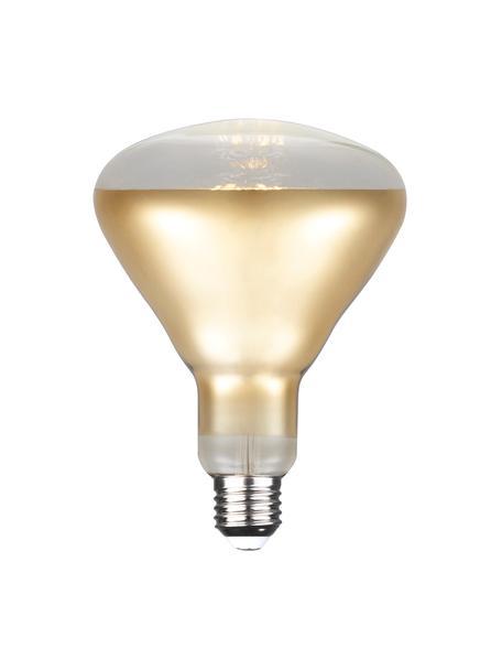 E27 Leuchtmittel, 7W, dimmbar, warmweiss, 1 Stück, Leuchtmittelschirm: Glas, Leuchtmittelfassung: Aluminium, Goldfarben, Ø 13 x H 17 cm