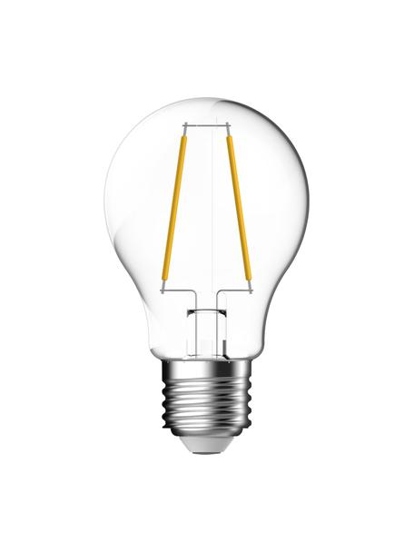 E27 Leuchtmittel, 470lm, warmweiss, 3 Stück, Leuchtmittelschirm: Glas, Leuchtmittelfassung: Aluminium, Transparent, Ø 6 x H 10 cm
