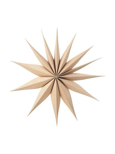 Stella decorativa Venok 2 pz, Legno sottile, Marrone chiaro, Ø 40 cm