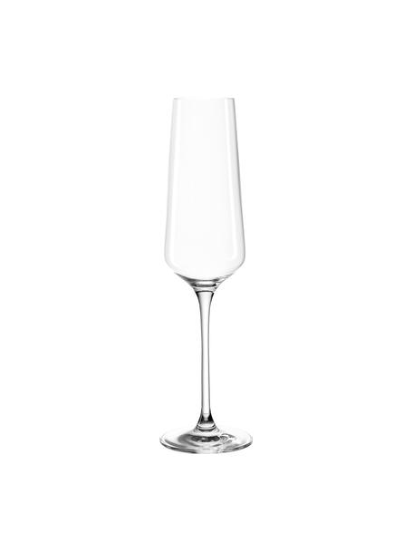 Sektgläser Puccini, 6 Stück, Teqton®-Glas, Transparent, Ø 7 x H 26 cm
