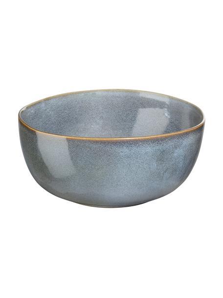 Schüssel Saisons aus Steingut in Blau, Ø 22 cm, Steingut, Blau, Ø 22 x H 11 cm