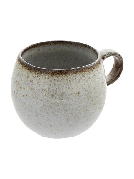 Handgemaakt kopje Sandrine in beige, Keramiek, Beigetinten, Ø 10 x H 10 cm
