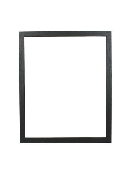 Bilderrahmen Seril, Rahmen: Mitteldichte Holzfaserpla, Front: Glas, Schwarz, 13 x 18 cm