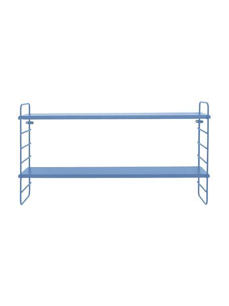 Mensola Kimi, Ripiani: pannelli di fibra a media, Blu, Larg. 65 x Alt. 35 cm
