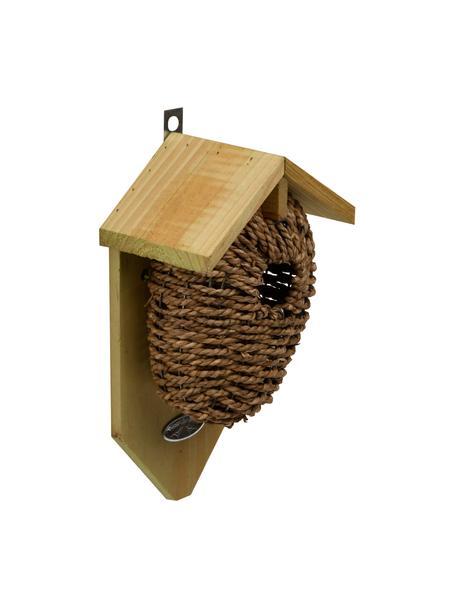 Gniazdo dla strzyżyków  Nest, Brązowy, S 15 x W 26 cm