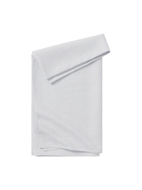 Mantel de lino Heddie, 100%lino, Gris azulado, De 6 a 10 comensales (An 145 x L 250 cm)