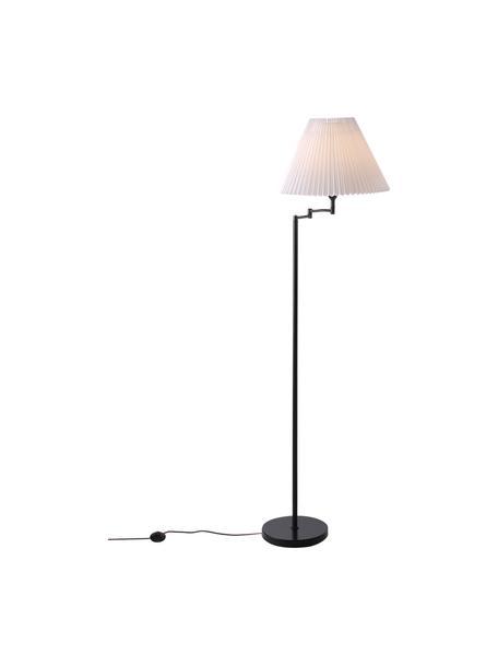 Lampa podłogowa Break, Czarny, biały, Ø 44 x W 158 cm