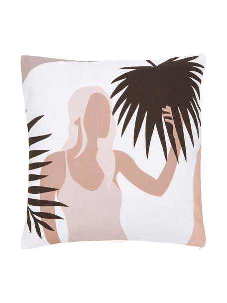 Poszewka na poduszkę Malena, 100% bawełna, certyfikat GOTS, Wielobarwny, S 45 x D 45 cm