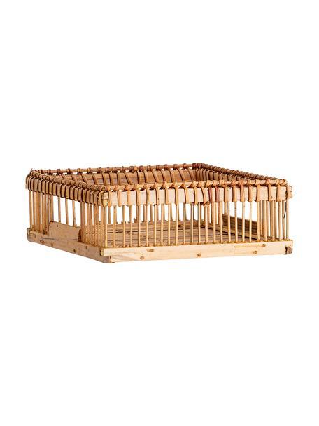 Stojak na serwetki z drewna bambusowego Lamgo, Drewno bambusowe, Drewno bambusowe, S 18 x G 18 cm