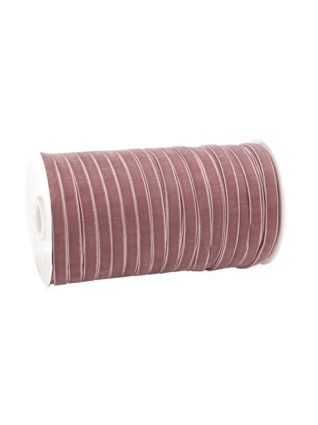 Wstążka prezentowa Velveta, Nylon, Różowy, S 1 x D 10000 cm