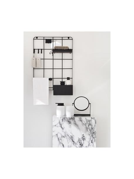 Porta spazzolini Bonny, Poliresina, Bianco, Ø 9 x Alt. 10 cm