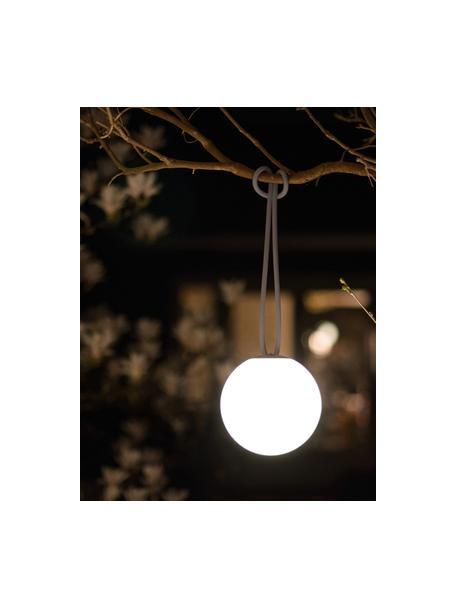 Mobile Dimmbare Hängelampe Bolleke, Lampenschirm: Kunststoff, Weiß, Taupe, Ø 20 x H 20 cm