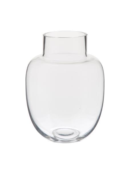 Vaso in vetro Lotta, Vetro, Trasparente, Ø 18 x Alt. 25 cm