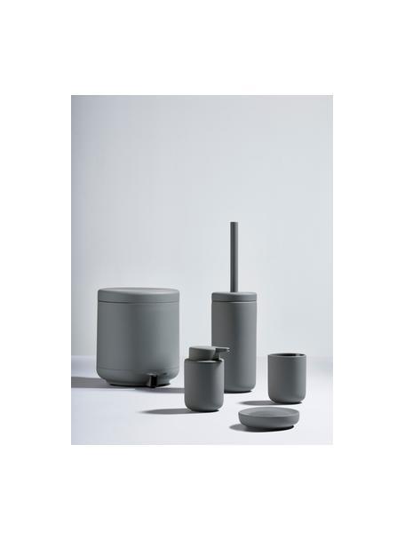 Porseleinen zeephouder  Ume, Porselein, Grijs, Ø 12 x H 3 cm
