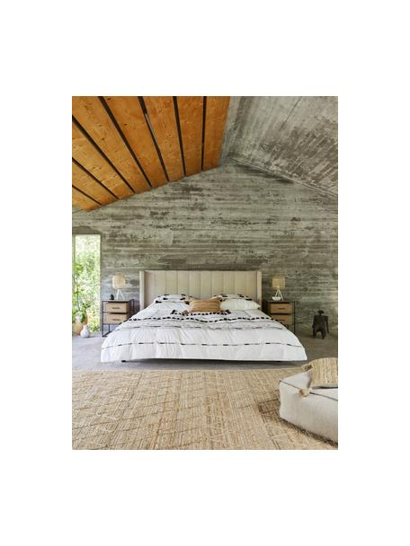Handgefertigter Jute-Teppich Jason, 100% Jute, Beige, B 200 x L 300 cm (Größe L)