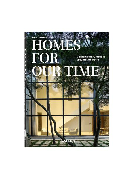 Libro ilustrado Homes for our Time, Papel, tapa dura, Verde, multicolor, An 16 x L 22 cm