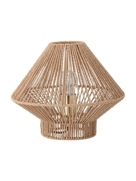 Lampada da tavolo in carta Rapot, Paralume: carta, Beige, Ø 30 x Alt. 25 cm