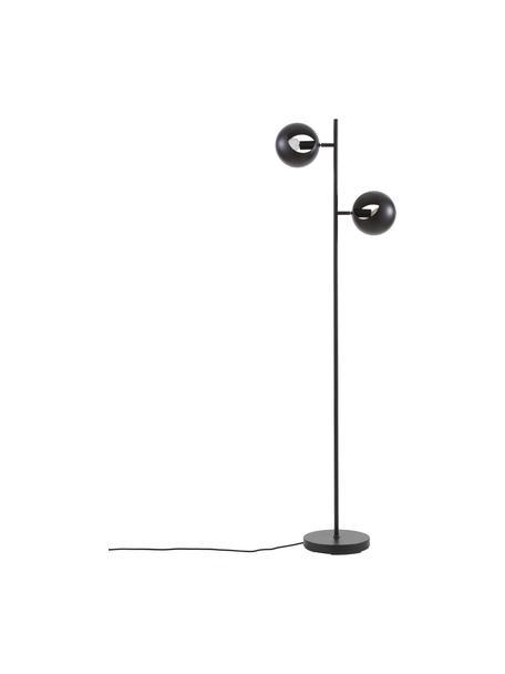 Lámpara de lectura Edgar, Pantalla: metal pintado, Cable: plástico, Negro, An 40 x Al 145 cm