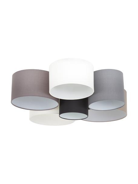 Lampa sufitowa Pastore, Brązowy, szary, biały, czarny, Ø 99 x W 29 cm
