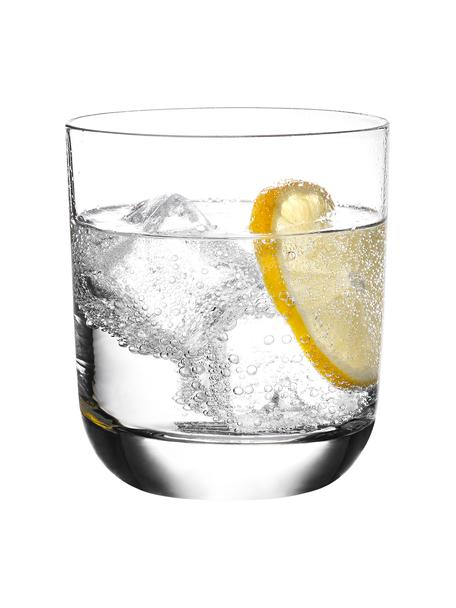 Bicchiere in cristallo con bordo liscio Harmony 6 pz, Cristallo ad alta lucentezza, particolarmente visibile al riflesso della luce, Trasparente, Ø 9 x Alt. 10 cm