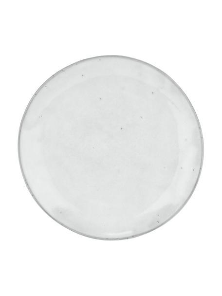 Handgemaakte ontbijtborden Nordic Sand, 4 stuks, Keramiek, Zandkleurig, Ø 20 x H 3 cm