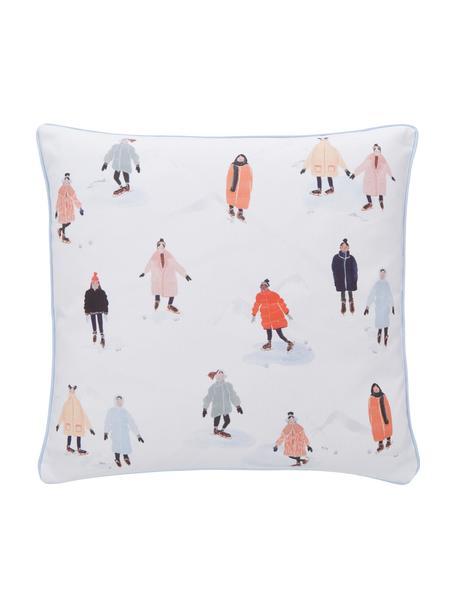 Poszewka na poduszkę Ice Skater od Candice Gray, 100% bawełna, certyfikat GOTS, Wielobarwny, S 45 x D 45 cm