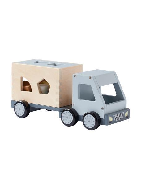 Spielzeug-Set Aiden mit Steckspiel, Holz, Mehrfarbig, 30 x 13 cm
