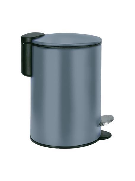 Kosz na śmieci Silence, Metal lakierowany, Ciemny niebieski, Ø 17 x W 24 cm